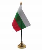 Bulgarije versiering tafelvlag 10 x 15 cm