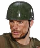 Camouflage helm voor volwassenen