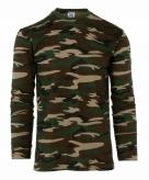 Camouflage shirt longsleeve