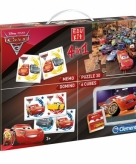 Cars speel en puzzel box 4 in 1
