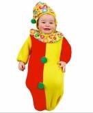 Clowntjes trappelzak voor baby