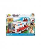 Cobi ambulance bouwstenen pakket