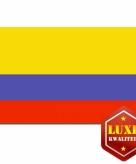 Colombiaanse vlag luxe kwaliteit