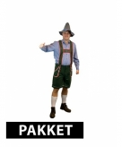 Compleet pakket maat xl oktoberfest kleding heren