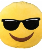 Coole emoticon kussentje 50 cm