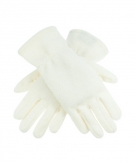 Creme kleurige handschoenen