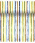 Cubaanse stijl tafelloper 3 in 1 met strepen 4 80 m