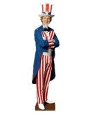 Cut out van uncle sam