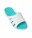 Dames slippers zeeblauw