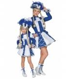 Dansmarieke outfit blauw voor meisjes
