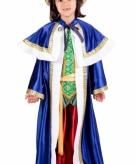 De drie wijzen blauw kostuum voor kinderen