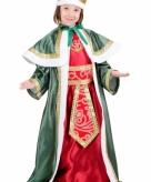 De drie wijzen groen kostuum voor kinderen