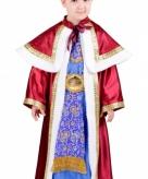 De drie wijzen rood kostuum voor kinderen