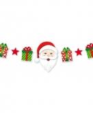 Deco kerstmutsen slinger 165 cm