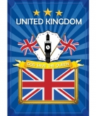 Deur poster thema united kingdom