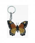 Dieren sleutelhanger vlinder