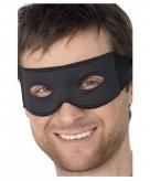Dieven masker zwart