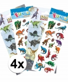 Dinosaurus thema stickers pakket