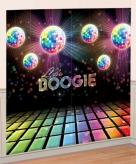Disco muurdecoratie 165 x 82 cm