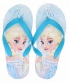Disney frozen elsa flip flops lichtblauw voor meisjes