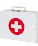Dokters accessoires koffertje 21 cm