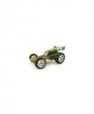 Donker groene racebuggy bamboe 8 cm