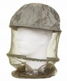 Donkergroen hoofd muskietennet