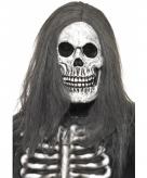 Doodskop maskers met haren