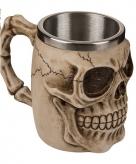 Drink beker met een doodshoofd 10075206