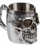 Drink beker met een doodshoofd 10075216
