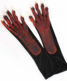 Duivel verkleed handschoenen