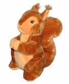 Eekhoorn knuffel 25 cm