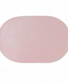 Effen kleur placemat lichtroze