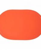 Effen kleur placemat oranje
