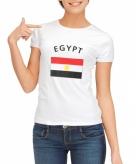 Egyptische vlag t-shirt voor dames