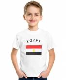 Egyptische vlag t-shirts voor kinderen