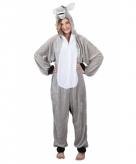 Ezel onesie dierenpak 180 cm