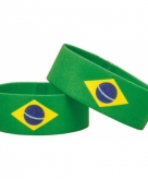 Fan armband brazilie