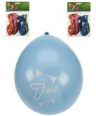 Feest ballonnen 7 jaar