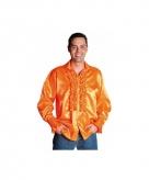 Feest blouse met rouches voor heren