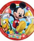 Feest borden mickey mouse 16 stuks