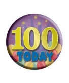 Feest button 100 jaar