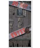 Feest party griezelige spookhuis deuren versiering decoratie 76 x 152 cm