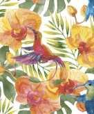Feest servetten tropische bloemenprint 20 stuks
