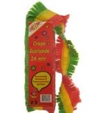 Feest slingers rood geel groen