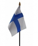 Finland vlaggetje polyester