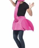 Flamingo kostuum voor volwassenen