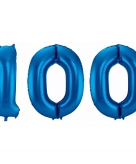 Folie ballon 100 jaar 86 cm 10089941