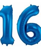 Folie ballon 16 jaar 86 cm 10089942