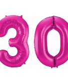 Folie ballon 30 jaar 86 cm
